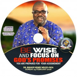 Be wise and focus on God's promises