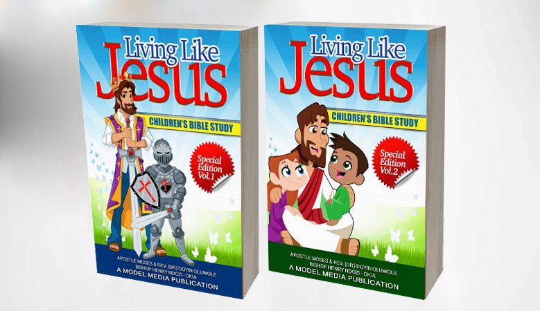 Living Like Jesus Vol.1 & Vol.2 Children's Bible Study